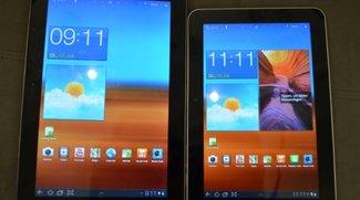 Samsung Galaxy Tab 8.9 mit Android 3.1 und TouchWiz UX im Hands On