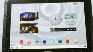 "Wasserfestes ""Arrows Tab"" von Fujitsu mit Android Honeycomb"