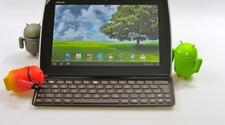 Asus Eee Pad Slider Unboxing &amp&#x3B; Hands On (Video)