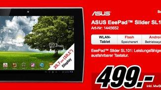 Asus Eee Pad Slider ab sofort bei Media Markt für 499€ zu kaufen