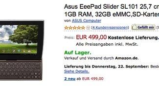 Asus Eee Pad Slider ab sofort bei Amazon und anderen Händerln lieferbar