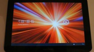 Samsung Galaxy Tab 8.9 zeigt sich in einem Unboxing  und Hands On Video