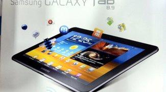 Samsung Galaxy Tab 8.9 Wifi in den USA noch diese Woche um $399 (Update: $469)