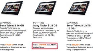 Sony Tablet S bereits in Deutschland zu kaufen