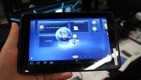ViewSonic ViewPad 7x - 7 Zoll mit Tegra 2 Dual Core Prozessor im Hands On