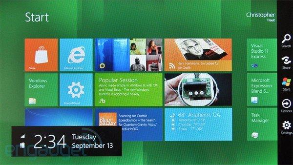 Windows 8 für Tablets - weitere Infos und Hands On von der BUILD