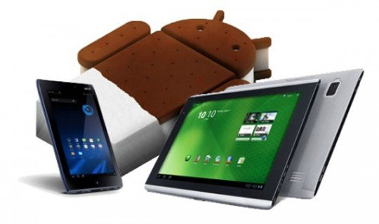 Acer Iconia Tab A500 / A100 bekommen Android 4.0 Update Anfang 2012?