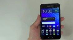 Samsung Galaxy Note mit Go Launcher EX und Android Ice Cream Sandwich Theme (Video)