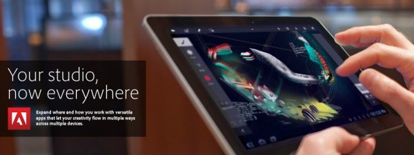 Adobe veröffentlicht verschiedene Apps für Android  Tablets