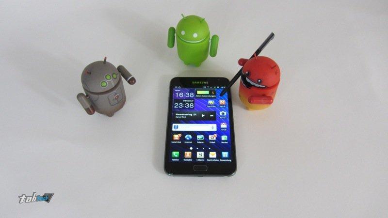 Samsung Galaxy Note Android 4.1 Update auf 2013 verschoben