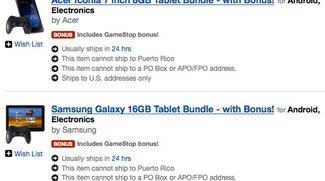 Gamestop bringt Android Tablet Bundles mit 7 kostenlosen Spielen und optionalen Gaming Controller