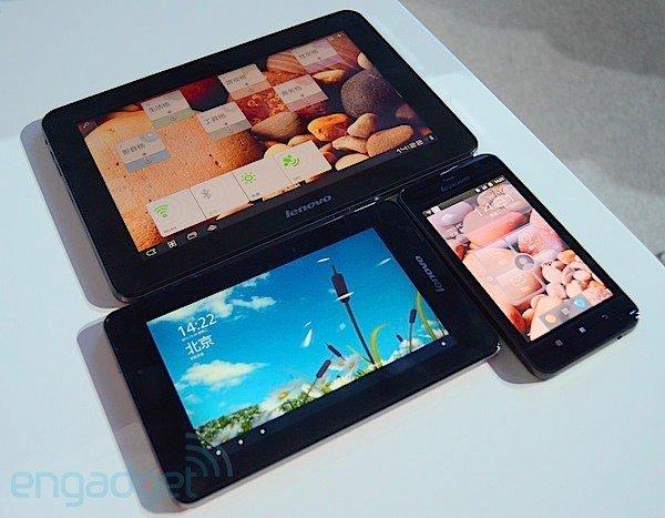 Lenovo stellt LePad mit  5, 7 und 10,1 Zoll und Qualcomm Dual Core Prozessor vor