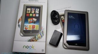 Barnes &amp&#x3B; Noble Nook Tablet Unboxing und Kurztest [Video und Bilder]