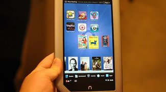 Barnes &amp&#x3B; Noble Nook Tablet mit laminierten 7 Zoll IPS Display, 1Gb und 1Ghz Dual Core für $249 (Video)