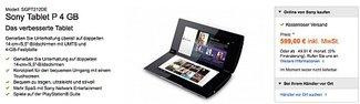 Dual-Screen Tablet Sony P nun  für 599€ verfügbar