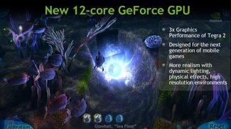 Neuer Tegra 3 Quad Core Prozessor ist bis zu 5x schneller - bereits 15 angepasste Games in Arbeit