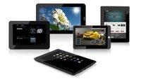 Coby bringt 5 Android Ice Cream Sandwich Tablets zur CES - Update: ab Ende des ersten Quartal in Deutschland