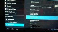 Huawei MediaPad mit Android Ice Cream Sandwich gesichtet (Bilder)