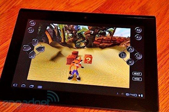 Sony Tablet S mit PS3-Controllern kompatibel