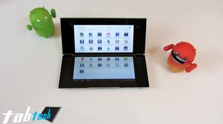 Sony Tablet P Unboxing und Kurztest (Video und Bilder)