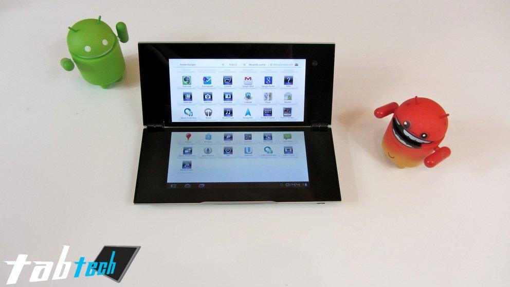 Sony Tablet P Unboxing und Kurztest (Video und Bilder)