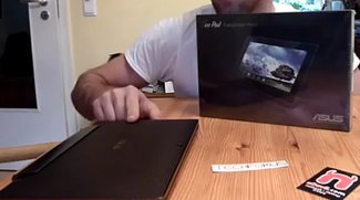 Asus Eee Pad Transformer Prime im Unboxing Video