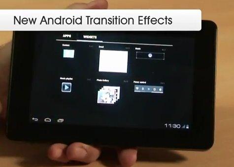 Android Ice Cream Sandwich auf 7 Zoll ZiiLabs Jaguar Referenz Tablet (Video)