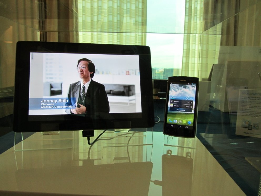 Asus PadFone Tablet und Smartphone im Hands On Video