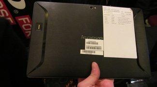 Lenovo IdeaPad K2 mit Tegra 3 im ersten Hands On und Vergleich zum Asus Eee Pad Transformer Prime