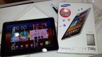 Samsung Galaxy Tab 7.7: Android 4.1.2 Update wird in Asien ausgerollt