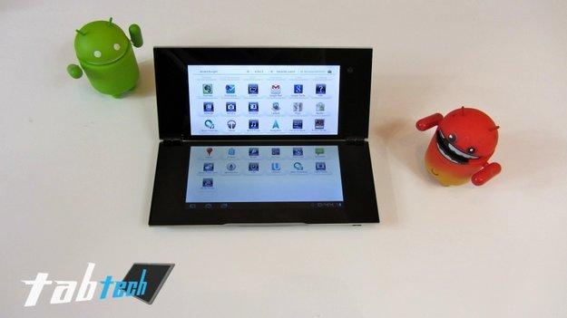 Der Sony Tablet P Test - Ein etwas anderes Tablet