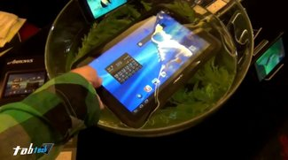 Fujitsu Arrows Tab F-01D im Tauchgang - Hands On Video