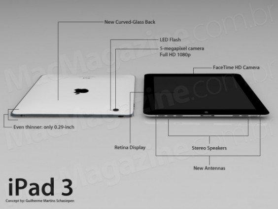 Gerücht: iPad 3 nur leicht aufgebohrt und iPad 4 schon im Oktober 2012