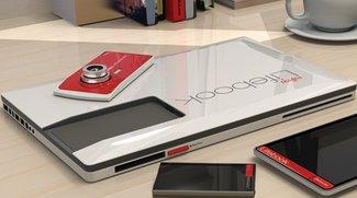 Schönes Konzept: Fujitsu Lifebook vereint Notebook, Smartphone, Tablet und Kamera