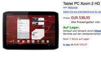Motorola Xoom 2 bereits für 539€  in Deutschland erhältlich