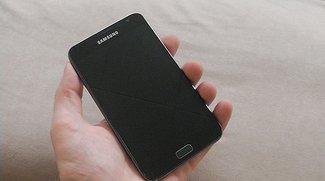 Update für's Galaxy Note verfügbar