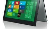 Lenovo IdeaPad Yoga - Tablet und Ultrabook mit Windows 8  (Video und Bilder)