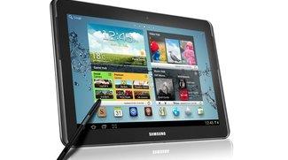 Samsung Galaxy Note 10.1 vor dem Marktstart