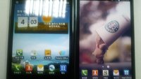 Vergleichsfoto: Samsung Galaxy Note vs LG Optimus Vu