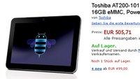Toshiba AT200 mit 7,7mm flachen Aluminium Gehäuse für 505€ bei Amazon auf Lager