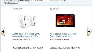 Amazon Blitzangebote: Acer Iconia Tab A200 um 299€ und Sony Tablet S 3G vergünstigt