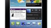 Samsung Galaxy Tab 2: 7-Zoll-Tablet mit Android Ice Cream Sandwich - Update: Hands On Video und Bilder