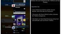 Screenshots zeigen offizielles Android Ice Cream Sandwich Rom des Samsung Galaxy Note