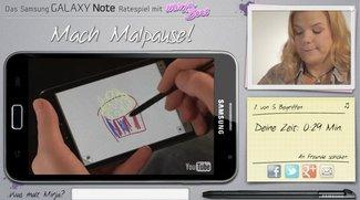 Samsung Galaxy Note - witziges Gewinnspiel