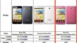 """Galaxy Note bald auch in der Farbe """"Pink Berry"""" erhältlich"""