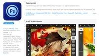 Adobe Photoshop Touch für das iPad 2 versehentlich gestern veröffentlicht