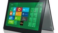 Lenovo will erster Anbieter eines Windows 8 Tablets sein