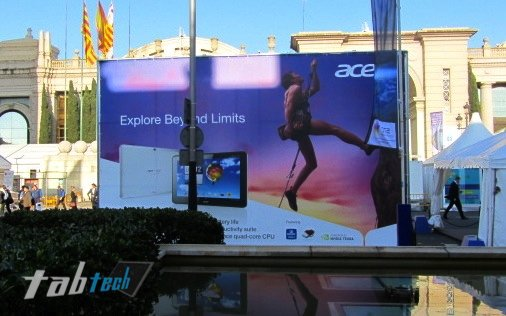 Acer Iconia Tab A510 kommt in silber als Olympia Edition? - Hands On Video