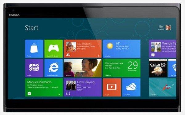 Stellt Nokia auf dem MWC 2013 ein Windows RT Tablet vor?
