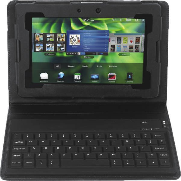 BlackBerry Playbook - Keyboard Case jetzt in der Vorbestellung - UPDATE: Video